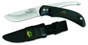 Outdoor Edge Swingblade SB-10N Rotating Blade Skinning Gutting Knife