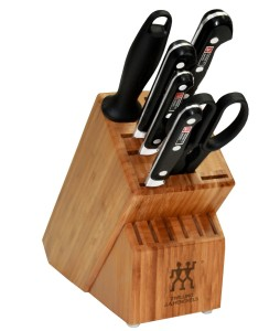 Zwilling J.A. Henckels Twin Pro S 7-Piece Knife Set with Block