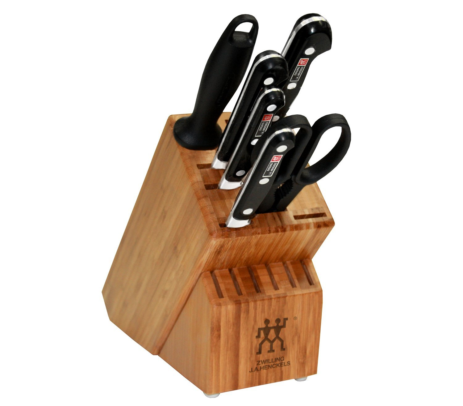 Zwilling J.A. Henckels Twin Pro S 7 Piece Knife Set With Block