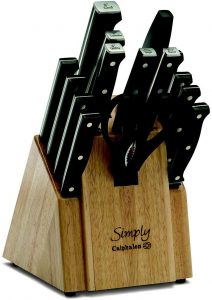 Review of Simply Calphalon Forged Cutlery Knife Set