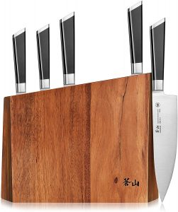Cangshan Y2 Series 59212 6-Piece German Steel Forged Knife Block Set