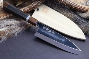 Yoshihiro Mizu Yaki Honyaki Shiroko White Steel Deba Fish Fillet Knife